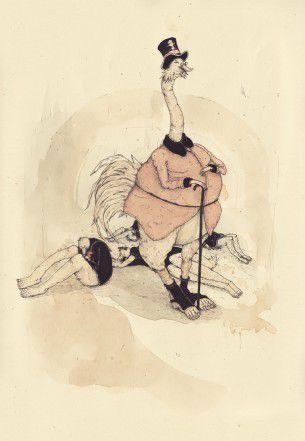 Marcus Gunnar Petterson è un artista illustratore svedese. La sua unicità è nel suo stile acquarellato e nei suoi soggetti surreali, spesso decontestualizzati dalla fantasia comune.