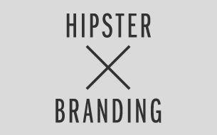 Come sarebbe il brand design se fossimo tutti hipster? Progetto grafico a cura del designer svizzero Dave Spengeler.