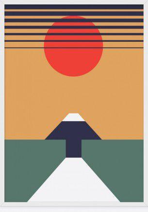 In un periodo di qualunquismo minimale, il graphic designer inglese Christopher Gray accende un piccolo faro nel panorama artistico del graphic design minimale, con le sue forme geometricamente perfette e gli accostamenti cromatici eccezionalmente accurati.