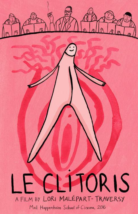 Locandina le clitoris