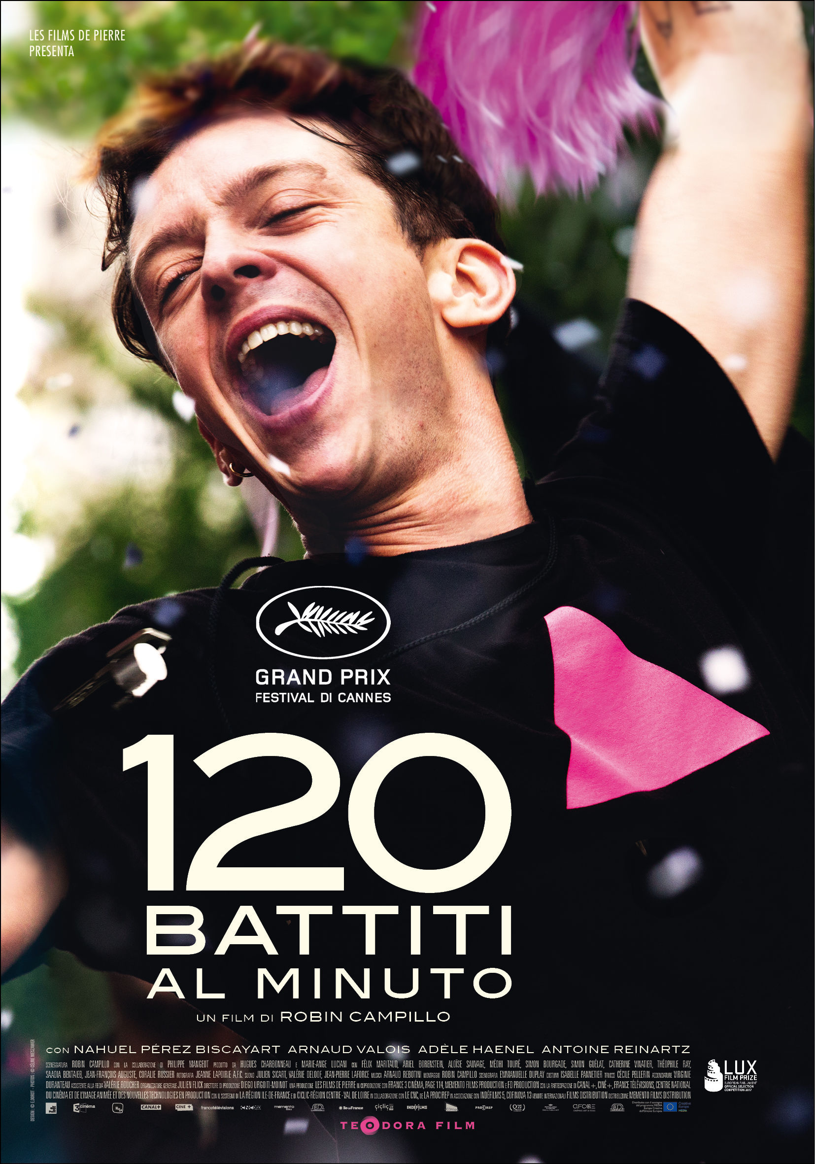120 BATTITI AL MINUTO manifesto