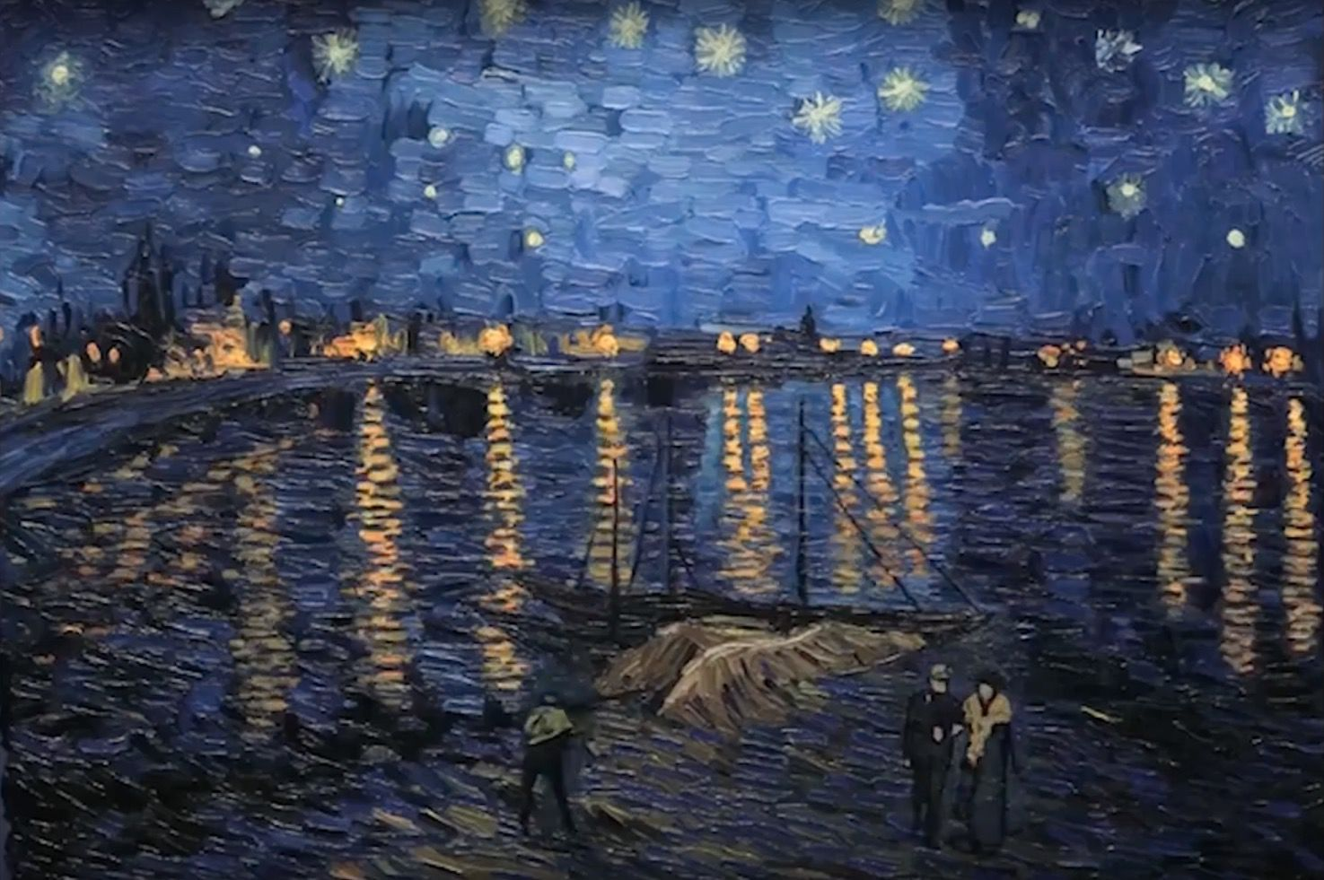 loving vincent starry night