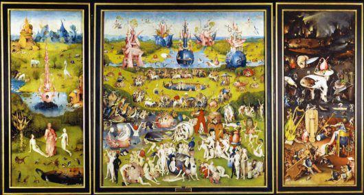 Il giardino delle delizie terrene Bosch