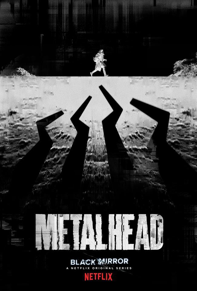 Metalhead poster black mirror