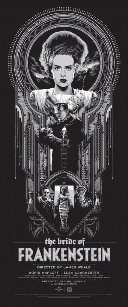 Bride Frankenstein Mondo