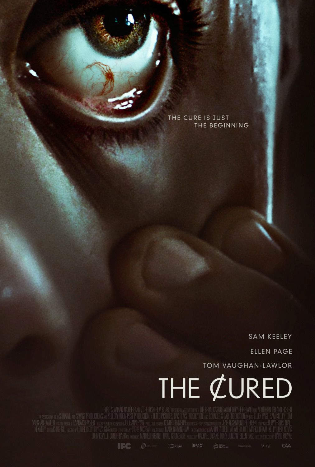 the cured large poster