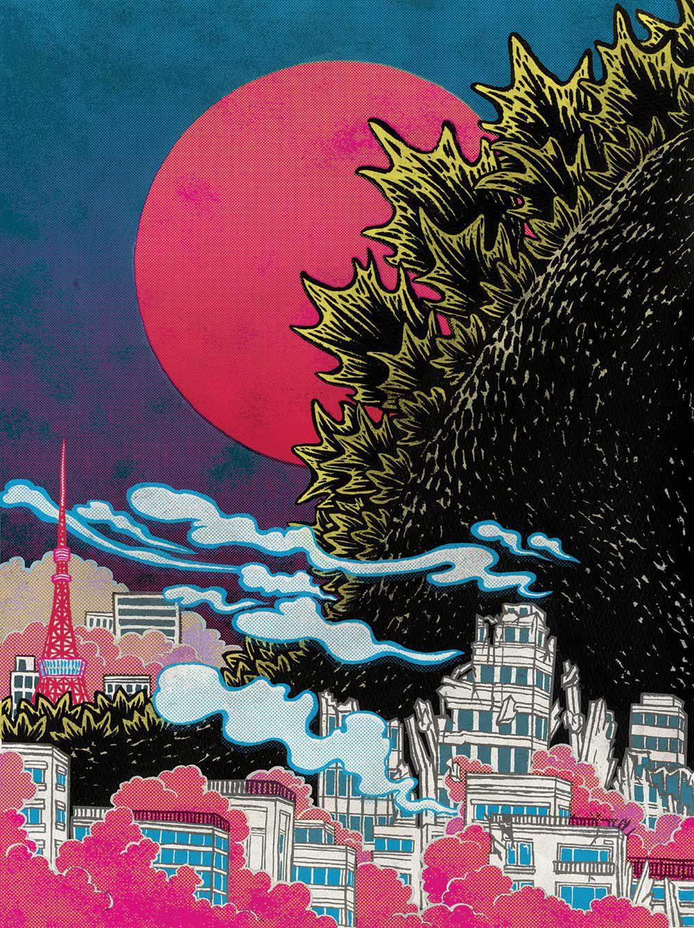 Godzilla_criterion_collection_interior_Yuko_Shimizu