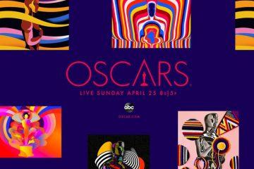 93esima edizione Oscar Poster